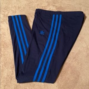 Preowned Adidas womens legging size xsmall